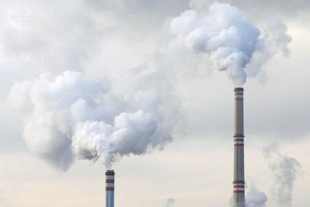Chimeneas Central Carbón